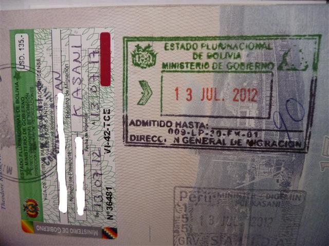 Obtaining a Bolivian Visa in Puno, Peru or at Copacabana