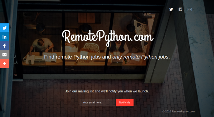 Remote Python Jobs and Only Remote Python Jobs