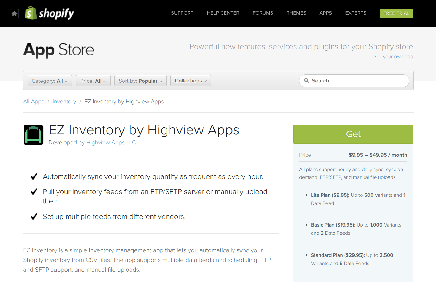 Automated Shopify inventory updates made easy.